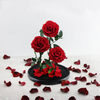 Preserved Roses in L Size Glass